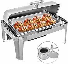 Rectangle Chafing Dish Set, 9L Chafing Dish Set