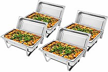 Rectangle Chafing Dish Set 9L Full Size Stainless