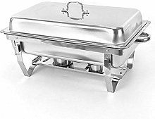 Rectangle Chafing Dish Set, Stainless Steel