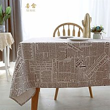 Rectangle/Oblong Dining Tablecloths 100% Cotton