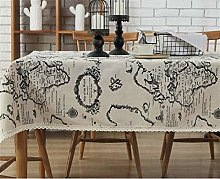 Rectangle/Oblong Dining Tablecloths Home 100%