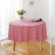 Rectangle/Oblong Dining Tablecloths Modern Red And