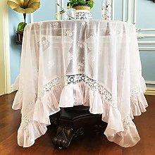 Rectangle/Oblong Tablecloths Vintage Lace