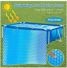 Rectangle Pool Cover3m x 2m Protector Pool Cover