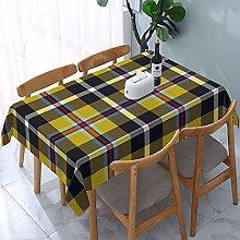 Rectangle Table Cloth,Cornish National Tartan