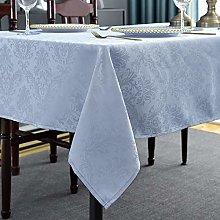 Rectangle Tablecloth -152 x 305CM Gray Damask