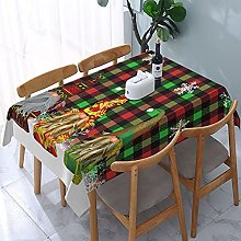Rectangle Tablecloth Buffalo Tartan Plaid