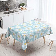 Rectangle Tablecloth, Chickwing Plants 3D Pattern
