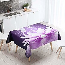 Rectangle Tablecloth, Chickwing Rose 3D Pattern