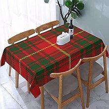 Rectangle Tablecloth Clan Bruce Scottish Tartan