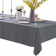 Rectangle Tablecloth, Rectangular 60x120 Gray