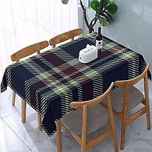 Rectangle Tablecloth Tartan Plaid Seamless