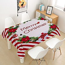 Rectangle Tablecloths Waterproof Dust-Proof Table