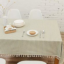 Rectangle Wipe-Clean Tablecloth 6Ft Exhibition
