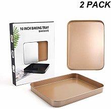 Rectangular Baking Tray, Cake Pan 10 Inches,