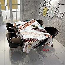 Rectangular Decorative Tablecloth,Beautiful
