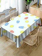 Rectangular Decorative Tablecloth,Creative Fruit