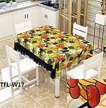 Rectangular Decorative Tablecloth,Creative