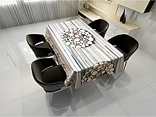 Rectangular Decorative Tablecloth,Plant Mandala