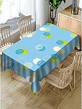 Rectangular Decorative Tablecloth,Simple Geometry