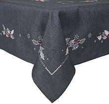 Rectangular Fabric Christmas Tablecloth Material
