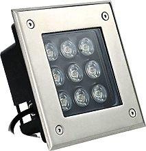 Rectangular LED Floor Lighting AC220V Outdoor Lawn