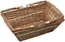 Rectangular Market Shopping Wicker Basket Brambly