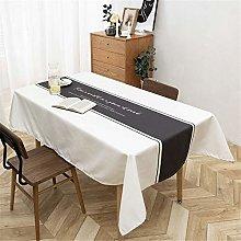 Rectangular Polyester Waterproof Household Table