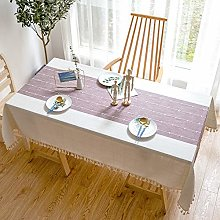 Rectangular tablecloth, dustproof, anti-wrinkle