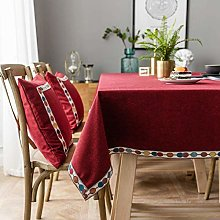 Rectangular Tablecloth Stain Proof Waterproof