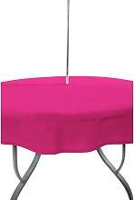 Rectangular Tablecloth Symple Stuff Colour: Pink,