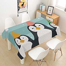 Rectangular Tablecloth Waterproof, Abstract