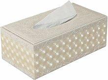 Rectangular tissue box for home / office / car -