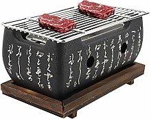 Rectangular Yakiniku Japanese Charcoal Oven