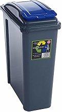 Recycle It Wham Slimline Bin & Lid Multi-purpose