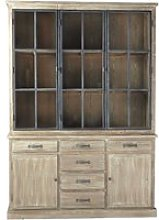 Recycled Pine Display Cabinet
