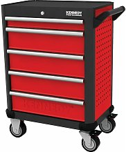 RED-28' 5 Drawer Professional Roller Cabinet -