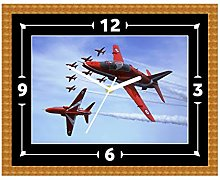 Red Arrows RAF Clock Gift Present Christmas