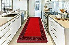 Red Black 80 x 300 cm Modern & Trendy Greeky Gel