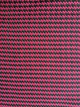 Red Black Woven Upholstery Fabric Furniture