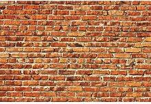 Red Brick Wall 4.1m x 50cm 7 Piece Wallpaper East