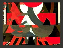 Red & Co. - a Cubist Abstraction 270cm x 350cm
