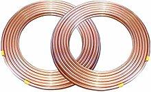 Red Copper Coil, air Conditioner Copper Tube, Soft