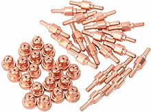 Red Copper Material Plasma Cutter Electrode for