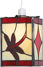 Red Dragonfly Pendant Shade