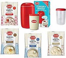 Red EasiYo Yogurt Maker (1kg) Starter Pack |