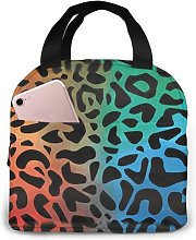 Red Eyed Bull Dog91 Portable Insulated Lunch Bag