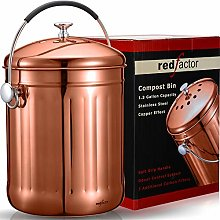 RED FACTOR [UK Brand] Premium Stainless Steel