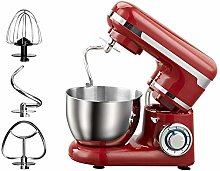 Red Food Mixer – 1200W Electric Stand Mixer –