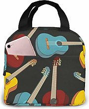 Red, Green and Blue Music Classic Guitar Insulated